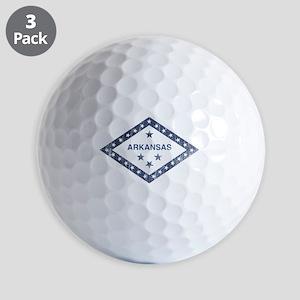 Vintage Arkansas State Flag Golf Ball