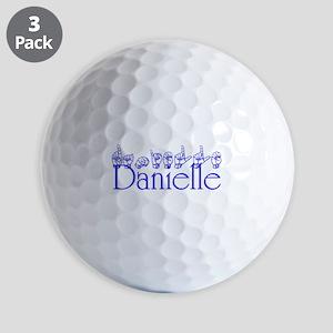 Danielle Golf Ball