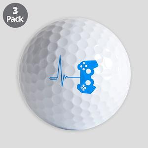 Gamer Heart Beat Golf Balls