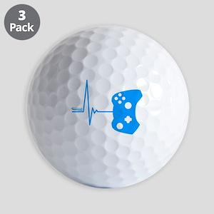 Gamer Heartbeat Golf Balls