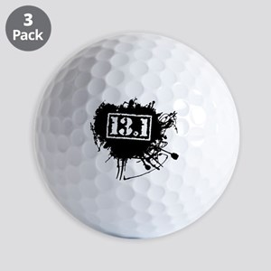 Half Marathon Golf Ball