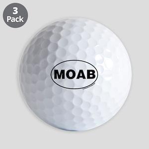 MOAB Golf Balls