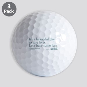 Have some fun. - Grey's Anato Golf Balls
