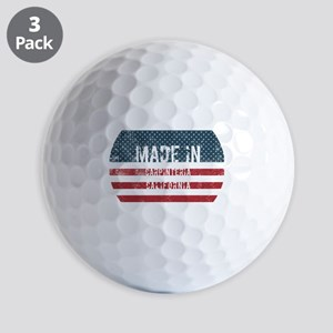 Made in Carpinteria, California Golf Balls