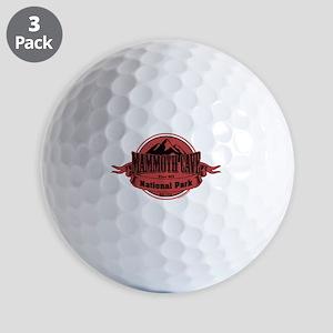 mammoth cave 4 Golf Balls
