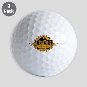 mount rainier 4 Golf Balls
