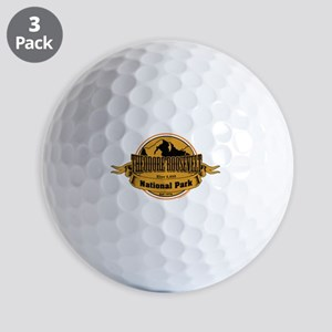 theodore roosevelt 3 Golf Ball