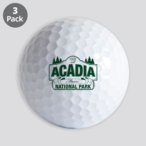 Acadia National Park Golf Balls