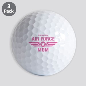 Proud Air Force Mom W [pink] Golf Balls