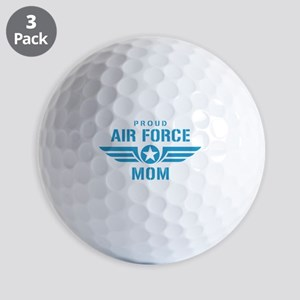 Proud Air Force Mom W Golf Balls