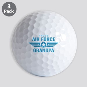 Proud Air Force Grandpa W Golf Balls