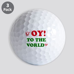 Oy to the World! Golf Balls