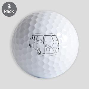 70s Van Golf Balls