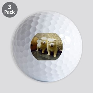 LS samoyed puppy Golf Ball