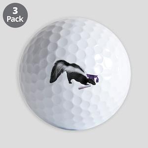 Skunk Grad Golf Ball