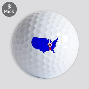 State of Alabama Golf Balls