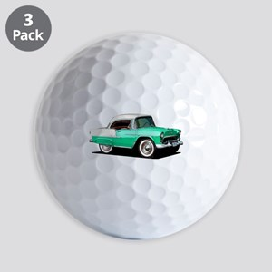 BabyAmericanMuscleCar_55BelR_Xmas_Green Golf Ball