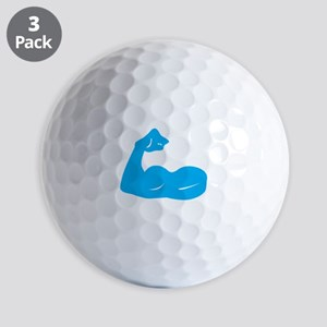 Bicep Flex Golf Ball