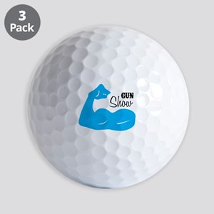 Gun Show Golf Ball