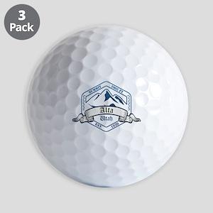 Alta Ski Resort Utah Golf Ball