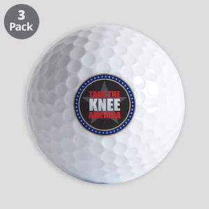 Take the Knee Golf Balls