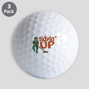 Tidyin Up Golf Ball