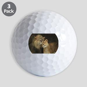 LOVE AT FIRST Golf Ball