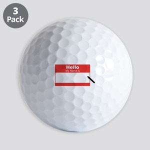 My Name Is Golf Ball