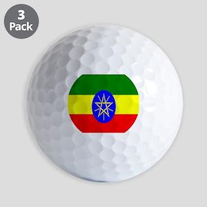 Flag of Ethiopia Golf Balls