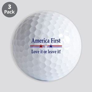 Love it or leave it Golf Balls