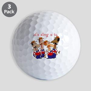 Nifty Quartet Golf Balls