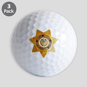 San Bernardino County Sheriff Golf Balls