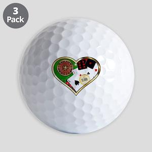 Love Gambling Golf Balls