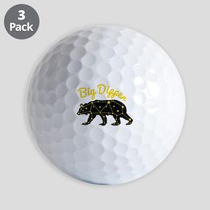 Big Dipper Golf Ball