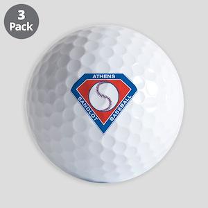 Athens Sandlot Logo Big Golf Ball