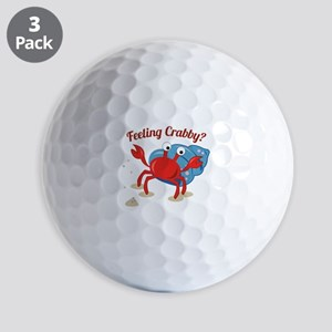 Feeling Crabby? Golf Ball