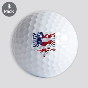 Albanian American Eagle Golf Balls