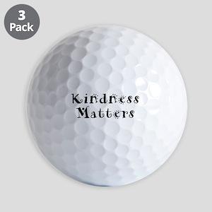 KINDNESS MATTERS Golf Balls