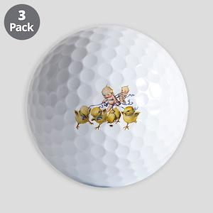 Kewpies and Chicks Golf Balls