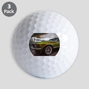 70 Mustang Mach 1 Golf Balls