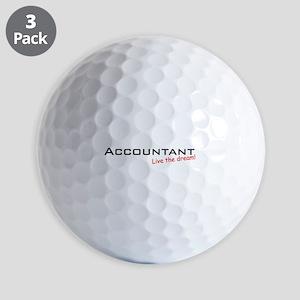 Accountant / Dream! Golf Balls