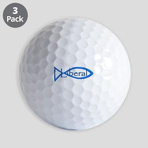 Liberal Christian Golf Balls