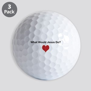 What Would Jesus Do? Golf Ball
