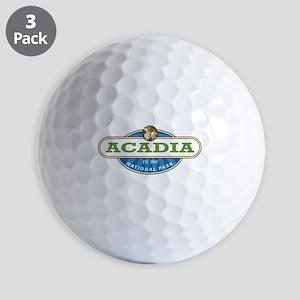 Acadia National Park Golf Ball