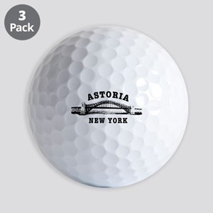 Astoria Hellgate Bridge Golf Balls