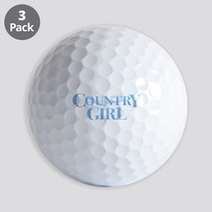 Country Girl Golf Balls