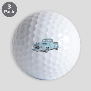 1950 Ford F1 Golf Balls