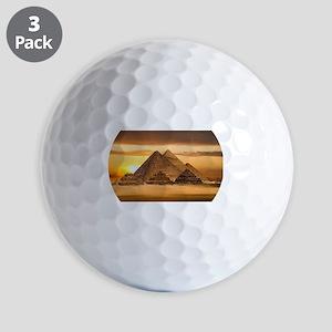 Egyptian pyramids Golf Balls