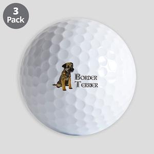 Border Terrier Golf Ball