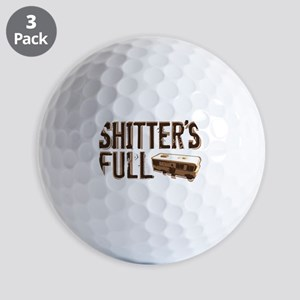 Shitter's Full Golf Balls